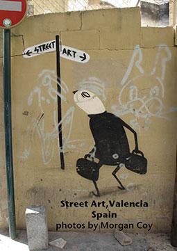 Street art, Valencia Spain
