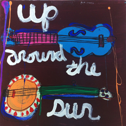 Up Around the Sun (hand painted edition) cover