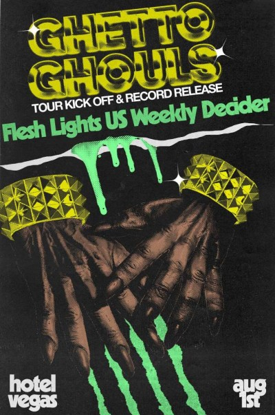 GHETTO GHOULS NEW LP AND TOUR
