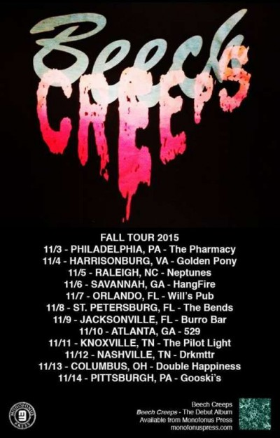 BEECH CREEPS TOUR!