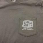 Astral Spirits Grey Pocket T