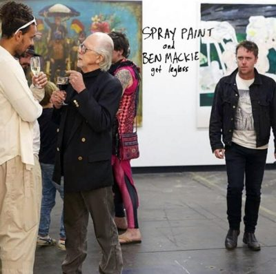 Spray Paint + Ben Mackie