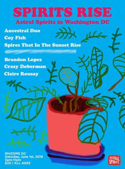 SPIRITS RISE – Astral Spirits in Washington DC June 1st!
